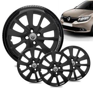 Jogo-4-Calota-Renault-Logan-Aro-15-Preta-Fosca-Emblema-Prata-01