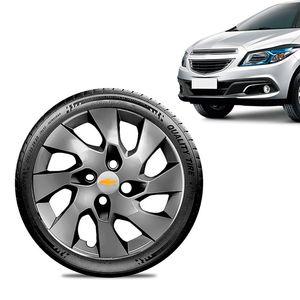 Calota-GM-Onix-Aro-15-Grafite-Brilhante-Emblema-Prata-01