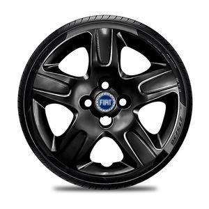 Calota-Fiat-Aro-14-Preta-Brilhante-Emblema-Azul-01