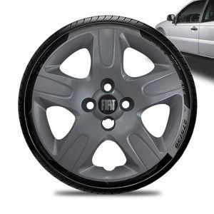 Calota-Fiat-Strada-Aro-14-Grafite-Fosca-Emblema-Preto-01