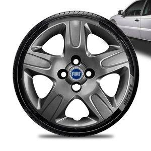 Calota-Fiat-Strada-Aro-14-Grafite-Brilhante-Emblema-Azul-01