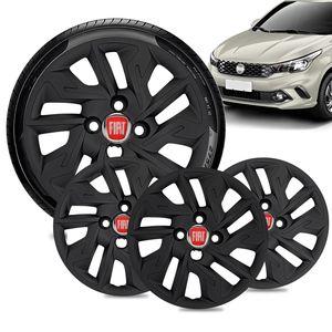 Jogo-4-Calota-Fiat-Argo-Aro-14-Preta-Fosca-Emblema-Vermelho-01