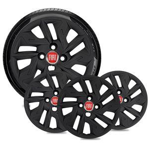 Jogo-4-Calota-Fiat-Aro-14-Preta-Fosca-Emblema-Vermelho-01
