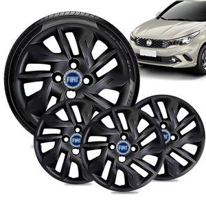 Jogo-4-Calota-Fiat-Argo-Aro-14-Preta-Brilhante-Emblema-Azul-01